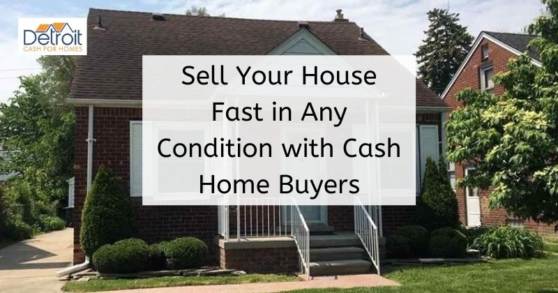Selling a house in bad condition