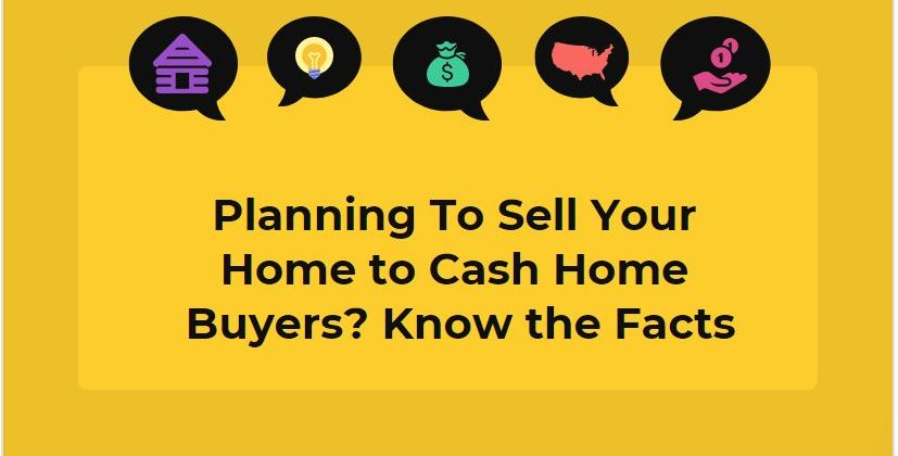 Sell Your Home to Cash Home Buyers