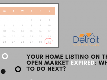 Your Home Listing on the Open Market Expired: What to Do Next?